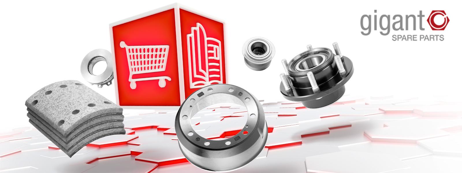 GIGANT Newsletter zu Spare Parts Onlineshop