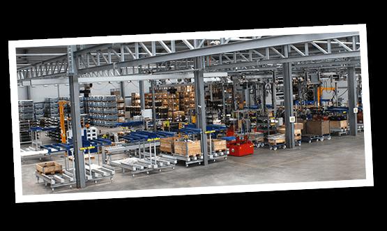 Neue Produktionslinie für Standardachsen wird in Betrieb genommen.